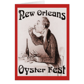 New Oyster Fest Card