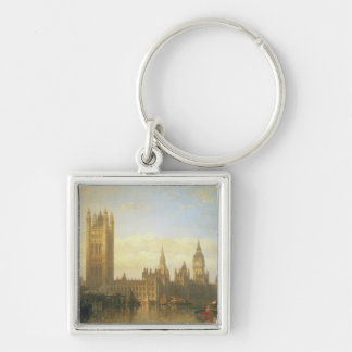 New Palace of Westminster from the River Thames Keychain