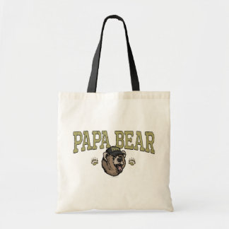 New Papa Bear Father's Day Gear Canvas Bags