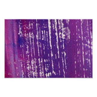New photography in shop : Purple abstract Poster