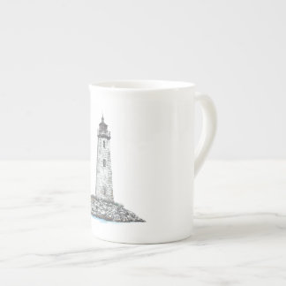 New Point Comfort Lighthouse Tea Cup
