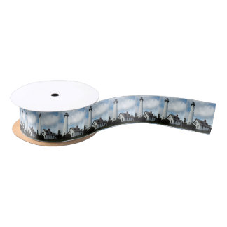 New Presque Isle Lighthouse Satin Ribbon