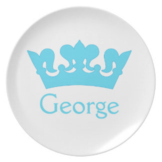 New Prince - A Royal Baby! Dinner Plate