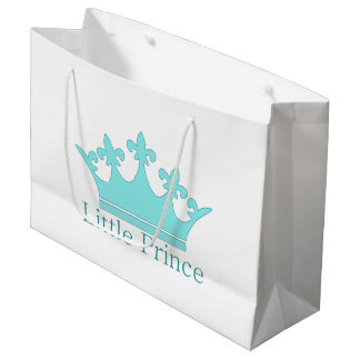 New Prince - a royal baby! Large Gift Bag