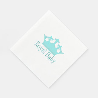 New Prince - A Royal Baby! Paper Napkins