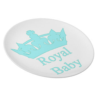 New Prince - A Royal Baby! Party Plate