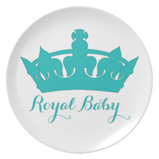 New Prince - A Royal Baby! Plates