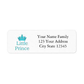 New Prince - a royal baby! Return Address Label