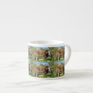 New River Brown Cow Espresso Mug