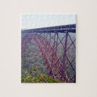 New River Gorge Bridge Jigsaw Puzzle