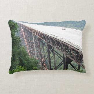 New River Gorge Bridge, West Virginia, pillow
