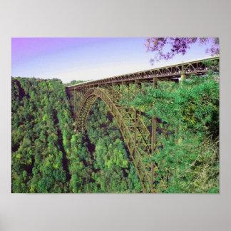 New River Gorge Bridge - West Virginia Poster