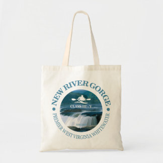 New River Gorge (c) Tote Bag