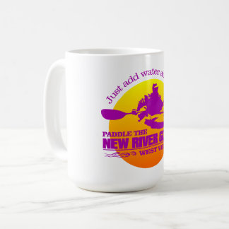 New River (sunset) Coffee Mug