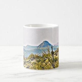New River Tonto Mountains Landscape Coffee Cup/Mug Coffee Mug
