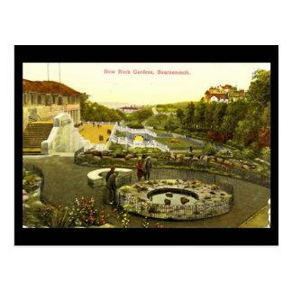 New Rock Gardens, Bournemouth, in 1934 Postcard