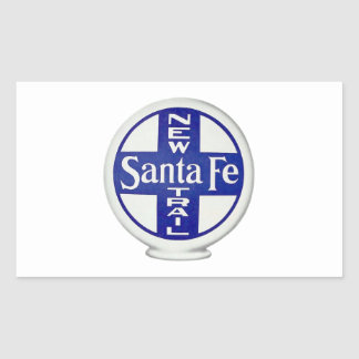 New Santa Fe Trail - Vintage Advertising Sticker