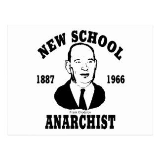 New School -- Frank Chodorov Postcard