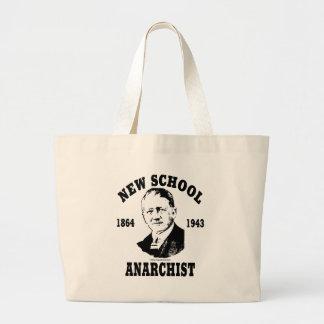 New School -- Franz Oppenheimer Large Tote Bag