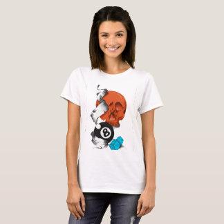 new school style, skulls, skulls, skate style, T-Shirt