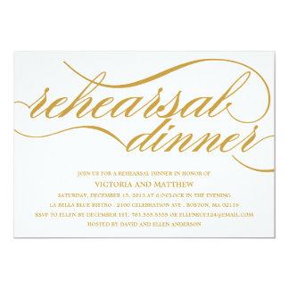 NEW SCRIPT | REHEARSAL DINNER INVITE