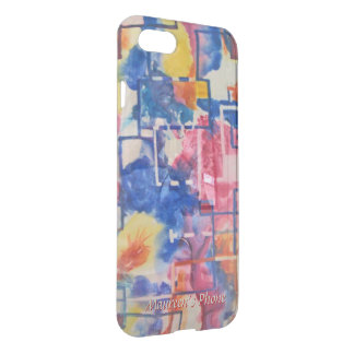 New Season - Abstract in Watercolor Your Name iPhone 8/7 Case