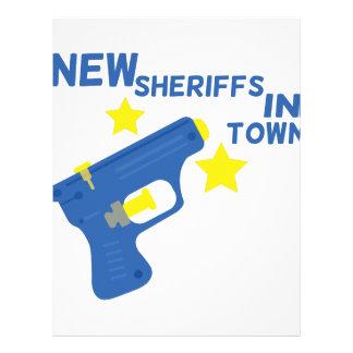 New Sheriff Letterhead