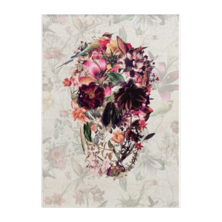 New Skull Light Acrylic Print