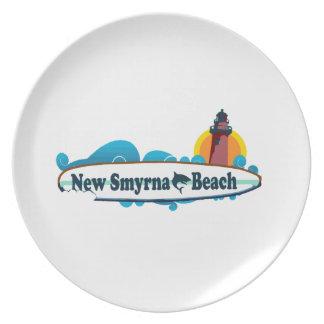 New Smyrna Beach. Dinner Plate