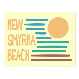 New Smyrna Beach Florida geometric design Postcard