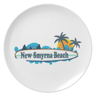 New Smyrna Beach. Party Plate