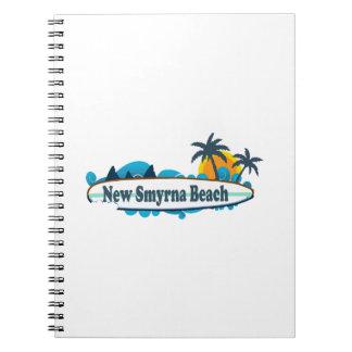 New Smyrna Beach. Spiral Notebooks
