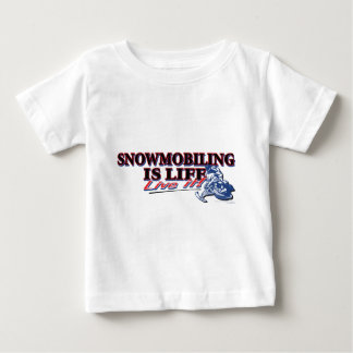 NEW-SNOWMOBILING-IS-LIFE BABY T-Shirt