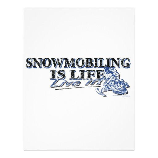 NEW-SNOWMOBILING-IS-LIFE-DIS PROSPECTUS