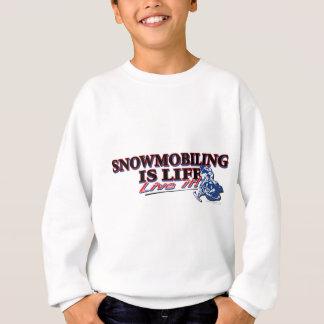 NEW-SNOWMOBILING-IS-LIFE SWEATSHIRT