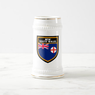New South Wales  Flag Beer Stein