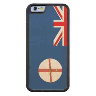 New South Wales Flag Carved® Maple iPhone 6 Bumper