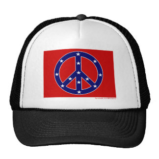New Southern Peace Flag Trucker Hat