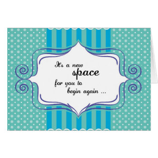 New Space Congratulations Card