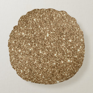 New sparkling Glitter Print Round Pillow