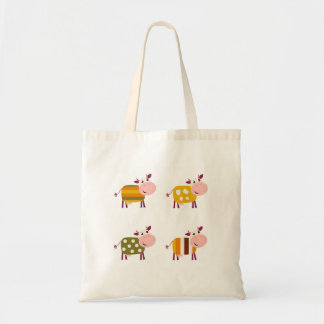New stylish tote bag with Cows