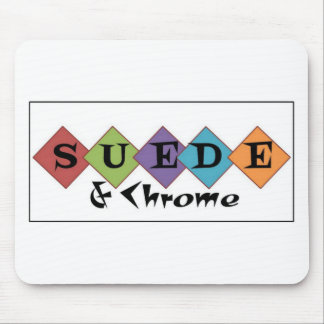 New Suede and Chrome logo items Mouse Pad