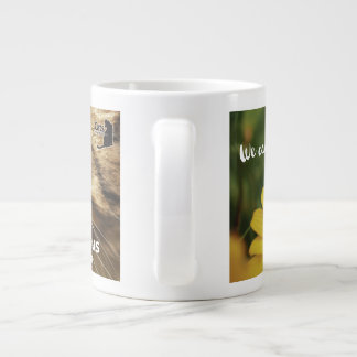 New! Support Cats Anonymous ... one sip at a time! Large Coffee Mug