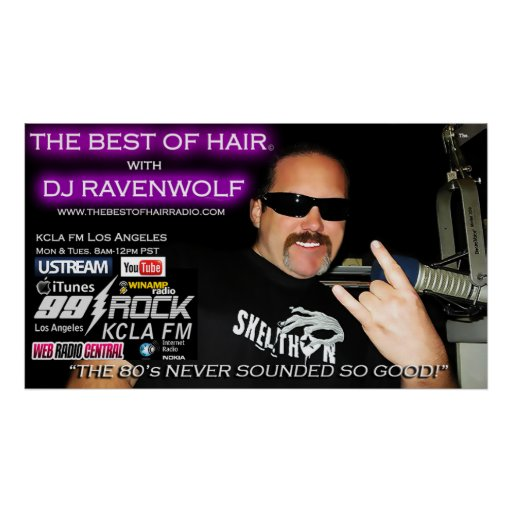 NEW! The Best Of Hair Poster