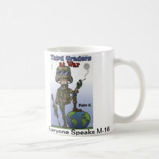 New Third Graders at War mug