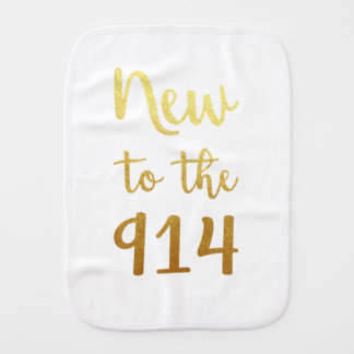 New to the 914 Burp Cloth
