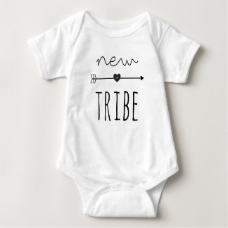 New To The Tribe Baby Jersey Bodysuit