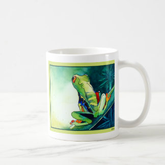 NEW TREE FROGS COFFEE MUG