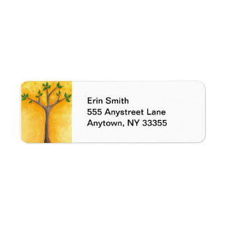 New Tree with Swirls address labels