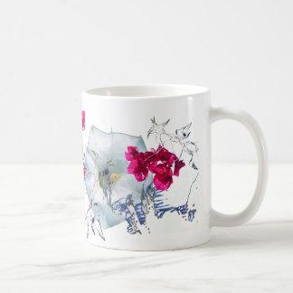 NEW VINTAGE/BAGS,CARDS,MUGS CLASSIC WHITE COFFEE MUG